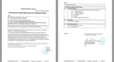 EU-GMP Certificate